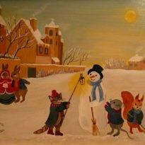 animaux-neige