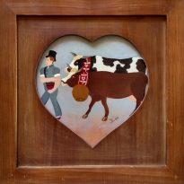 fermier 2 vaches