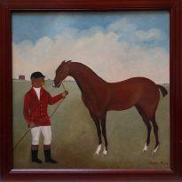 lr et son cheval